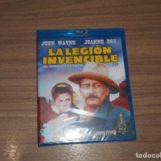 Cine: LA LEGION INVENCIBLE BLU-RAY DISC JOHN FORD JOHN WAYNE NUEVO PRECINTADO. Lote 162118237