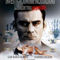 Cine: INVESTIGACIÓN SOBRE UN CIUDADANO LIBRE DE TODA SOSPECHA (BLU-RAY DISC BD PRECINTADO) GIALLO. Lote 237773880