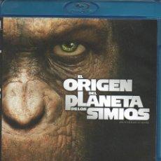 Cine: BLU-RAY EL ORIGEN DEL PLANETA DE LOS SIMIOS 2011 NUEVO. Lote 73507679