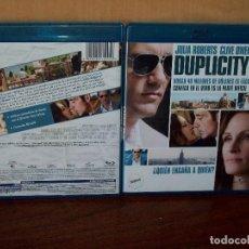 Cine: DUPLICITY - JULIA ROBERTS -CLIVE OWEN - DIRIRGIDA POR TONY GILROY - BLU-RAY. Lote 74420975