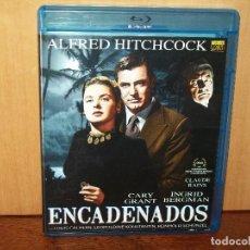 Cine: ENCADENADOS - CARY GRANT - INGRID BERGMAN - DIRIGIDA POR ALFRED HITCHCOCK - BLU-RAY. Lote 74425295