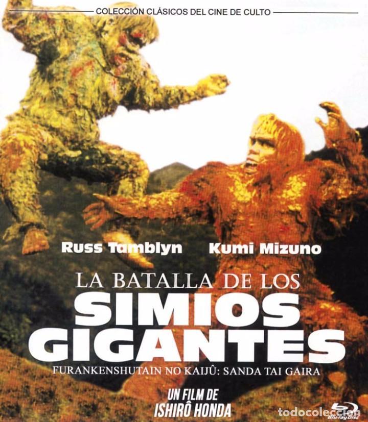 LA BATALLA DE LOS SIMIOS GIGANTES (BLU-RAY DISC BD PRECINTADO) CINE DE CULTO ISHIRO HONDA (Cine - Películas - Blu-Ray Disc)