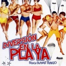 Cine: DIVERSIÓN EN LA PLAYA (BLU-RAY DISC BD PRECINTADO) FRANKIE AVALON. Lote 76544831