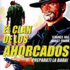 Cine: EL CLAN DE LOS AHORCADOS (BLU-RAY DISC BD) TERENCE HILL WESTERN. Lote 246173475