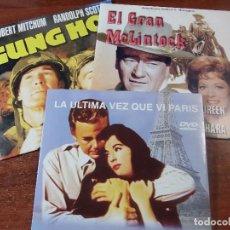 Cine: LOTE DE TRES PELICULAS DVD . Lote 78296153