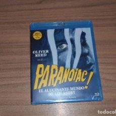 Cine: PARANOIAC EL ALUCINANTE MUNDO DE LOS ASHBY BLU-RAY DISC EDICION LIMITADA OLIVER REED PRECINTADO. Lote 96121516