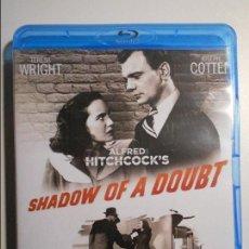 Cine: SHADOW OF A DOUBT. LA SOMBRA DE UNA DUDA. BLURAY DE LA PELICULA DE ALFRED HITCHCOCK. CON TERESA WRIG. Lote 80501989