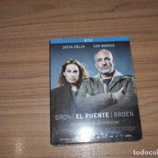 Cine: EL PUENTE SERIE TEMPORADA 1 Y 2 COMPLETA 4 BLU-RAY DISC 1.200 MIN. NUEVA PRECINTADA. Lote 105888239
