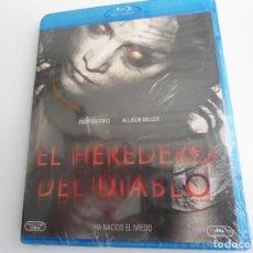 Cine: EL HEREDERO DEL DIABLO - MAT BETTINELLI-OLPIN & TYLER GILLETT - PELICULA BLU-RAY NUEVA - PRECINTADA. Lote 81811984