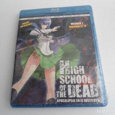 Cine: HIGH SCHOOL OF THE DEAD - APOCALIPSIS EN EL INSTITUTO VOL. 2 - BLU-RAY + DVD - NUEVA - PRECINTADA. Lote 81814340
