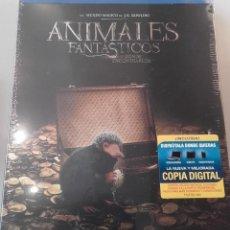 Cine: ANIMALES FANTASTICOS Y DONDE ENCONTRARLOS STEELBOOK METALICO BLURAY BLU-RAY DVD. Lote 85206304