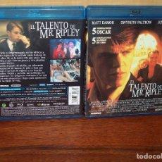 Cine: EL TALENTO DE MR. RIPLEY - MATT DAMON GWYNETH PALTROW - JUDE LAW - BLU-RAY. Lote 86663348