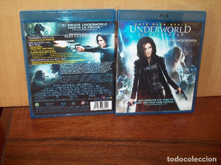 UNDERWORLD (EL DESPERTAR) - KATE BECKINSALE - DE MARLINO & STEIN - BLU-RAY (Cine - Películas - Blu-Ray Disc)