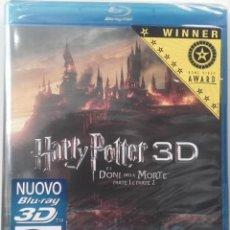 Cine: HARRY POTTER LAS RELIQUIAS DE LA MUERTE PARTES 1 Y 2 3D BLURAY BLU-RAY NUEVO. Lote 87438444