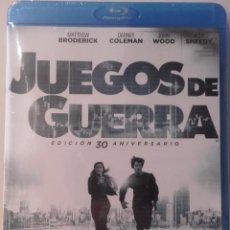 Cine: JUEGOS DE GUERRA EDICION 30 ANIVERSARIO WAR GAMES BLURAY BLU-RAY NUEVO. Lote 89006512