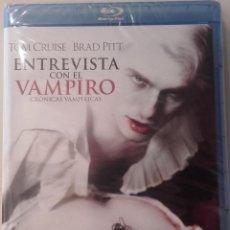 Cine: ENTREVISTA CON EL VAMPIRO EDICIÓN 20° ANIVERSARIO BLURAY BLU-RAY NUEVO BRAD PITT. Lote 89006584