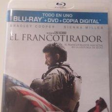 Cine: EL FRANCOTIRADOR DVD BLURAY BLU-RAY COMO NUEVO CLINT EASTWOOD BRADLEY COOPER. Lote 89006812