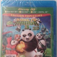 Cine: KUNG FU PANDA 3 3D DVD BLURAY BLU-RAY NUEVO EDICIÓN FRANCESA DREAMWORKS. Lote 89008668