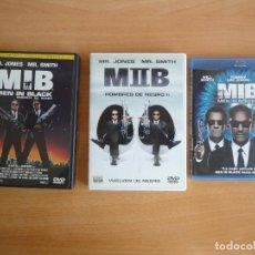 Cine: LOTE MEN IN BLACK TRILOGIA (DVD Y BLU RAY). Lote 89969336