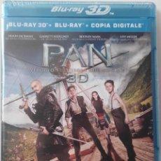 Cine: PAN (VIAJE A NUNCA JAMAS) 2D 3D BLURAY BLU-RAY LEVI MILLER HUGH JACKMAN. Lote 90183524