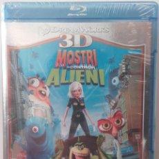 Cine: MONSTRUOS CONTRA ALIENIGENAS 3D 2D MONSTERS VS. ALIENS BLURAY BLU-RAY ANIMACION. Lote 90183696