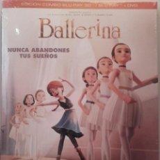 Cine: BALLERINA 3D 2D DVD BLURAY BLU-RAY + PACKAGING POPUP DANZA ANIMACION BAILARINA. Lote 90440339