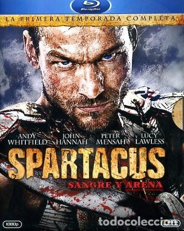 BLU RAY SPARTACUS, SANGRE Y ARENA COMPLETA SERIE TV (Cine - Películas - Blu-Ray Disc)