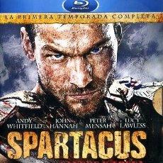 Cine: BLU RAY SPARTACUS, SANGRE Y ARENA COMPLETA SERIE TV. Lote 91722080
