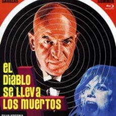 Cine: EL DIABLO SE LLEVA LOS MUERTOS (BLU-RAY DISC BD) TERROR DE CULTO DEL GRAN MAESTRO MARIO BAVA. Lote 187446503