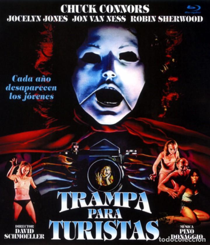 TRAMPA PARA TURISTAS (BLU-RAY DISC BD) TERROR DE CULTO CHUK CONNORS (Cine - Películas - Blu-Ray Disc)