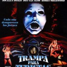 Cine: TRAMPA PARA TURISTAS (BLU-RAY DISC BD) TERROR DE CULTO CHUK CONNORS. Lote 217261121