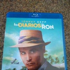 Cine: LOS DIARIOS DEL RON -- JOHNNY DEPP -- BLU-RAY -- . Lote 93110200
