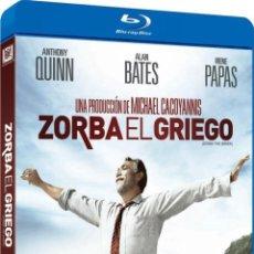 Cine: ZORBA EL GRIEGO (BLU-RAY) (ALEXIS ZORBAS). Lote 116083344
