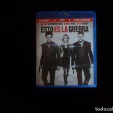 Cine: ESTO ES LA GUERRA ( SOLO BLU-RAY) - BLU-RAY COMO NUEVO. Lote 95127875
