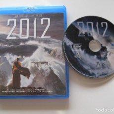 Cine: 2012 • BLU-RAY (IDIOMA ITALIANO E INGLÉS). Lote 95678739