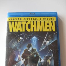 Cine: WATCHMEN • COMBO DVD (INGLÉS) + BLU-RAY (CASTELLANO) • COMO NUEVO. Lote 95680351