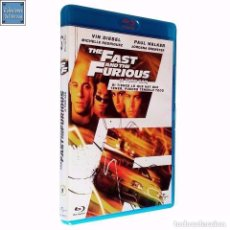 Cine: THE FAST AND THE FURIOUS (A TODO GAS) / UNIVERSAL 2001 / PELÍCULA BLU - RAY DISC 2009. Lote 96226611