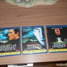 Cine: TRILOGIA COMPLETA ANGELES Y DEMONIOS EDICION COMBO 3 BLU-RAY DISC + 3 DVD NUEVO PRECINTADO. Lote 98850824