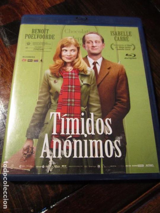 TIMIDOS ANONIMOS. BLURAY DE LA PELICULA DE BENOIT POELVOORDE E ISABELLE CARRE. (Cine - Películas - Blu-Ray Disc)