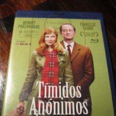 Cine: TIMIDOS ANONIMOS. BLURAY DE LA PELICULA DE BENOIT POELVOORDE E ISABELLE CARRE.. Lote 97519127