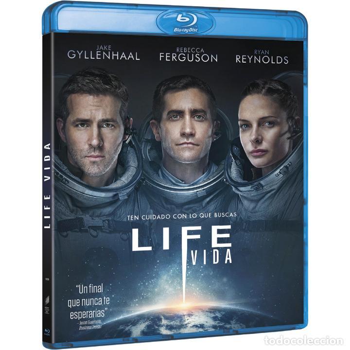LIFE. EN BLUE-RAY DISC. 2017 (Cine - Películas - Blu-Ray Disc)