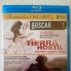 Cine: PACK EN TIERRA HOSTIL + RESTREPO (2 BLURAY). Lote 101383355