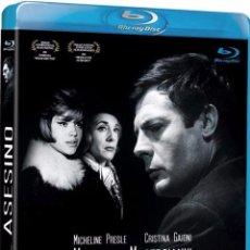 Cine: EL ASESINO (BLU-RAY DISC BD) MARCELLO MASTROIANNI DIRECTOR ELIO PETRI. Lote 165868068