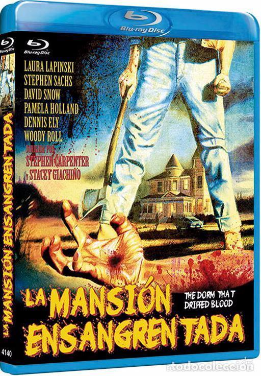 Cine: LA MANSION ENSANGRENTADA (BLU-RAY BD PRECINTADO) TERROR DE CULTO - Foto 2 - 212708988