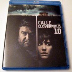 Cine: CALLE CLOVERFIELD 10 • BLU-RAY (COMO NUEVO). Lote 104086583