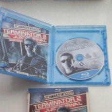Cine: TERMINATOR 2 BLU RAY DISC ORIGINAL EDICION COMIC DESCATALOGADA. Lote 104284215