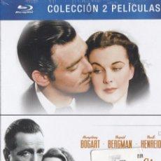 Cine: PACK 2 DISCOS: CASABLANCA + LO QUE EL VIENTO SE LLEVÓ.. Lote 137782149