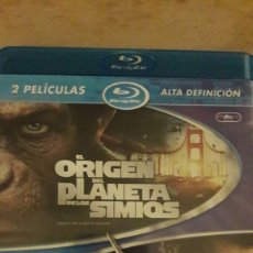 Cine: EL ORIGEN DEL PLANETA DE LOS SIMIOS + LOBEZNO BLU-RAY. Lote 104540043