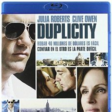 Cine: BLU-RAY DUPLICITY (JULIA ROBERTS, CLIVE OWEN). Lote 104892243