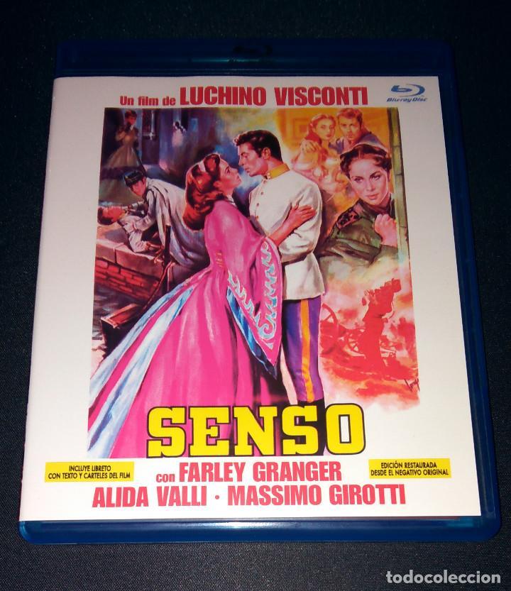 SENSO BLU-RAY CON LIBRETO DESCATALOGADO COMO NUEVA LUCHINO VISCONTI (Cine - Películas - Blu-Ray Disc)